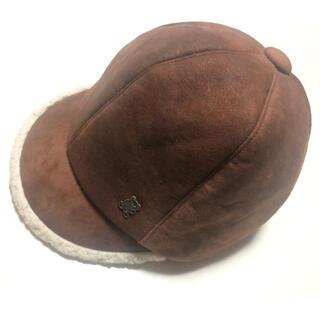 ヒステリックグラマー(HYSTERIC GLAMOUR)のHYSTERIC GLAMOUR ヒステリックグラマー ムートン風キャップ帽子(キャップ)
