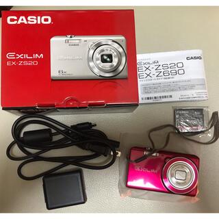 カシオ(CASIO)のcasioデジタルカメラEX-ZS20(コンパクトデジタルカメラ)