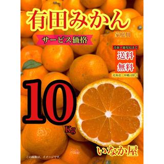 有田みかん 家庭用10Kg セール 特価価格 残り1点(フルーツ)