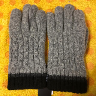 エル(ELLE)のELLE エル ニット手袋ライナーフリース (手袋)