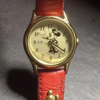 アルバ(ALBA)のアルバ ディズニー ミニーマウス クォーツ 腕時計 稼働品 ALBA(腕時計)