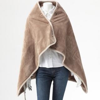 ムジルシリョウヒン(MUJI (無印良品))の無印良品 羽織れる電気ひざ掛け 未使用品 電気毛布 ブランケット(電気毛布)