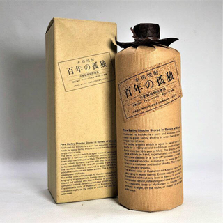 孤独×4本 大麦製長期貯蔵酒 720ml 黒木本店 [箱付][焼酎](焼酎)