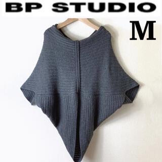 プロエンザスクーラー(Proenza Schouler)の【Mサイズ】BP STUDIO(ビーピーストゥディオ)半袖ニット ポンチョ(ニット/セーター)