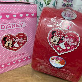 ディズニー(Disney)の新品未使用ディズニー ランドセル イオン ミニーちゃん 女の子(ランドセル)