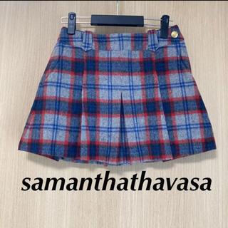 サマンサタバサ(Samantha Thavasa)のsamanthathavasa サマンサタバサ ミニスカート M レディース(ウエア)