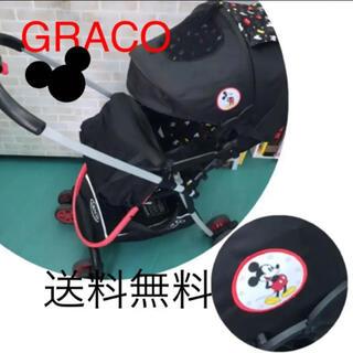 グレコ(Greco)のGRACO ミッキー デザイン 1ヶ月〜36か月 ハイシート 軽量A型ベビーカー(ベビーカー/バギー)