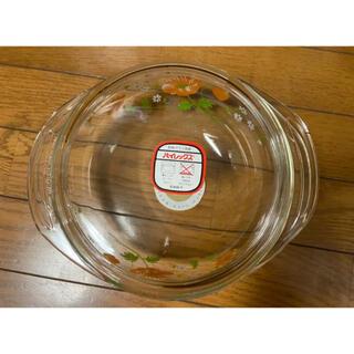 パイレックス(Pyrex)のパイレックス ガラス鍋 レトロ(鍋/フライパン)