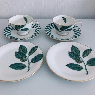 ミカサ(MIKASA)のMIKASA コーヒカップ&ソーサー&プレートセット(食器)
