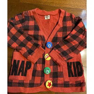 アナップキッズ(ANAP Kids)のアナップキッズ トレーナーカーディガン100㌢(カーディガン)
