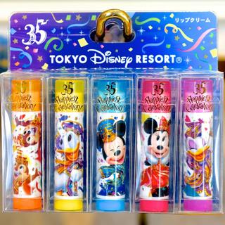 ディズニー(Disney)のバラ売り可能!DISNEY35周年 リップクリームップクリーム(その他)