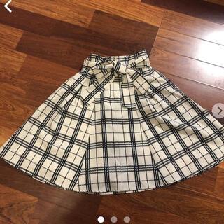 アズノゥアズピンキー(AS KNOW AS PINKY)のアズノウアズピンキー スカート(ひざ丈スカート)