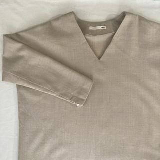 エヴァムエヴァ(evam eva)のevam eva wool drop shoulder onepiece (その他)