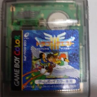 ゲームボーイ(ゲームボーイ)のゲームボーイ ドラゴンクエスト3(家庭用ゲームソフト)