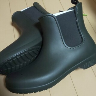 クロックス(crocs)のcrocs ブーツ 27 カーキ(ブーツ)