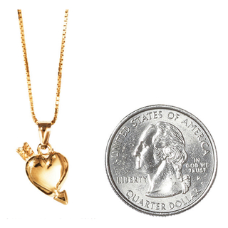 シュプリーム(Supreme)のSupreme Gold Heart and Arrow Pendant 14K(ネックレス)