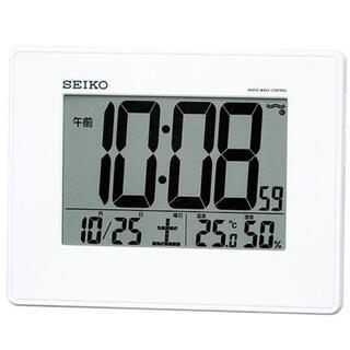 セイコー(SEIKO)のセイコー 掛置き時計 温湿度計 電波時計(置時計)