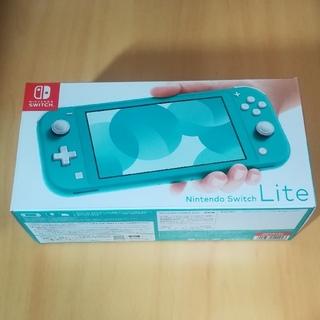 ニンテンドースイッチ(Nintendo Switch)の新品 Nintendo Switch Lite ターコイズ(携帯用ゲーム機本体)