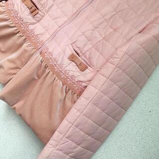 ギャラリービスコンティ(GALLERY VISCONTI)のギャラリービスコンティ / ライトタフタ・ベロア切替え &レース飾りジャケット(その他)
