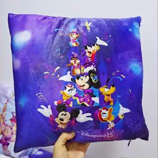 ミッキーマウス(ミッキーマウス)の香港ディズニーランド ミッキーフレンズブランケット タオルケット 毛布 ラス1(おくるみ/ブランケット)