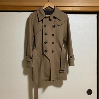 イチミリ(ichi-miri)のICHI-MIRI  design meltonwool trench coat(トレンチコート)
