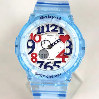 ベビージー(Baby-G)のCASIO Baby-G  レディース腕時計 BGA-131-2B 海外モデル(腕時計(アナログ))