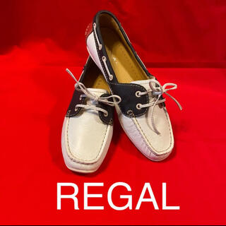 REGAL - [REGAL]本革デッキシューズ