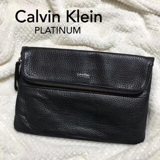 カルバンクライン(Calvin Klein)のCalvin klein    platinum      クラッチバック (セカンドバッグ/クラッチバッグ)
