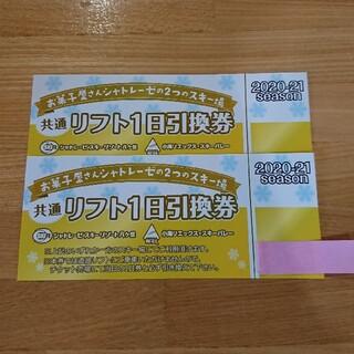 小海リエックス・シャトレーゼスキー場 リフト1日券2枚(スキー場)