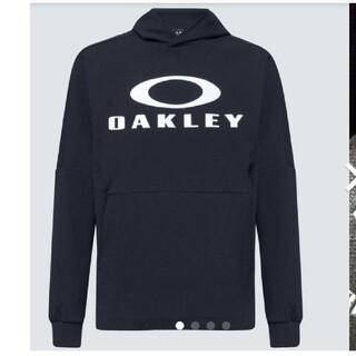 オークリー(Oakley)の【L】オークリーOAKLEY ビッグロゴ スウェット パーカー ジャージ(パーカー)