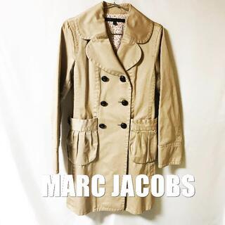 マークバイマークジェイコブス(MARC BY MARC JACOBS)の【MARC JACOBS】PPラペル プリーツポケット トレンチコート(トレンチコート)