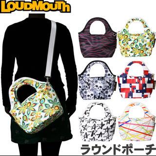 ラウドマウス(Loudmouth)のLOUDMOUTH ラウドマウス  LM-RP0003 ラウンドポーチ【新品】(バッグ)