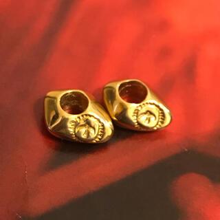 ゴローズ(goro's)のゴローズ 全金 身内ビーズ 2個セット(ネックレス)