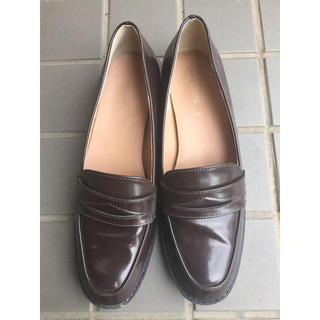シマムラ(しまむら)のローファー ブラウン(ローファー/革靴)