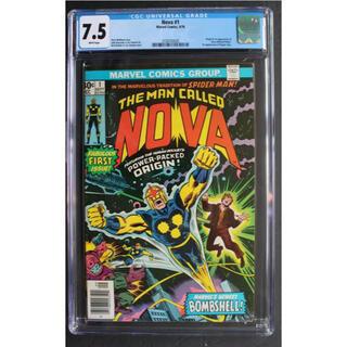 マーベル(MARVEL)のアメコミ Nova #1 CGC 初登場 マーベル ノヴァ スパイダーマン(アメコミ/海外作品)