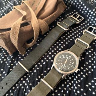 タイメックス(TIMEX)のtimex × nigel cabourn ナムウォッチ(腕時計(アナログ))
