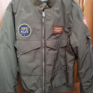 A BATHING APE - HUMAN MADE FLIGHT JACKET