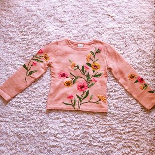 シビラ(Sybilla)のシビラ 花柄刺繍ニット(ニット/セーター)