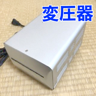 カシムラ(Kashimura)のゆうすけ様専用 カシムラ変圧器 120V⇔100V 1500VA TI-19(変圧器/アダプター)