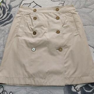 マッキントッシュフィロソフィー(MACKINTOSH PHILOSOPHY)のマッキントッシュフィロソフィー 台形スカート ラップスカート(ひざ丈スカート)