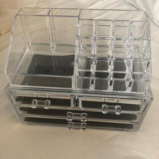 アクリル 収納 BOX(メイクボックス)