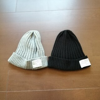 シマムラ(しまむら)のニット帽2個セット(ニット帽/ビーニー)