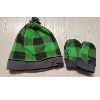 コロンビア(Columbia)の美品!Colombia☆ベビー帽子&手袋セット(帽子)