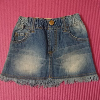 ロデオクラウンズ(RODEO CROWNS)のRODEO CROWNS KIDS デニムスカート USED➡美品(スカート)