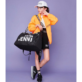 ジェニィ(JENNI)の(新品)シスタージェニィ  ロゴ刺繍ジップUPウィンドブレーカー(ジャケット/上着)