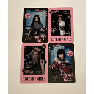 BLACKPINK 購入特典 カード(アイドルグッズ)