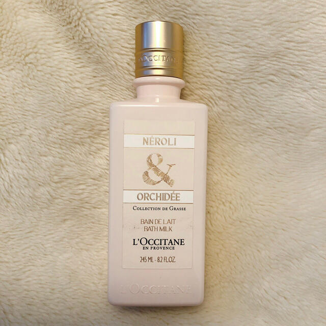 L'OCCITANE(ロクシタン)のF♡S様専用 ロクシタン ORCHIDEE(オーキデ) バスミルク コスメ/美容のボディケア(入浴剤/バスソルト)の商品写真