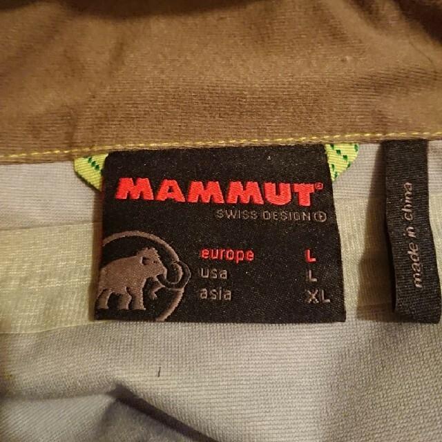 Mammut(マムート)のMAMMUT マウンテンパーカー【サイズLL】 スポーツ/アウトドアのスノーボード(ウエア/装備)の商品写真