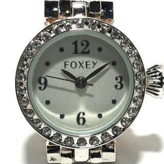 フォクシー(FOXEY)のFOXEY(フォクシー) 腕時計美品  レディース(腕時計)