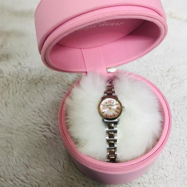 Angel Heart(エンジェルハート)の♡エンジェルハート♡ ダイヤモンドカット腕時計 レディースのファッション小物(腕時計)の商品写真
